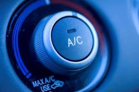 Circle S Auto Service Air Condition Dial